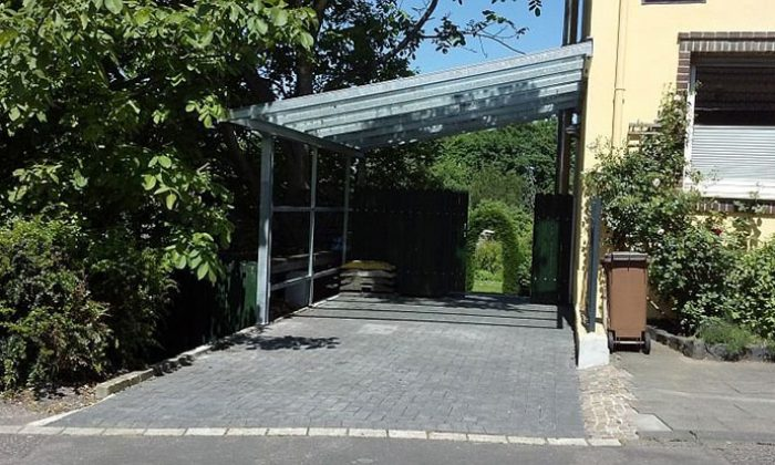 Überdach für Carport