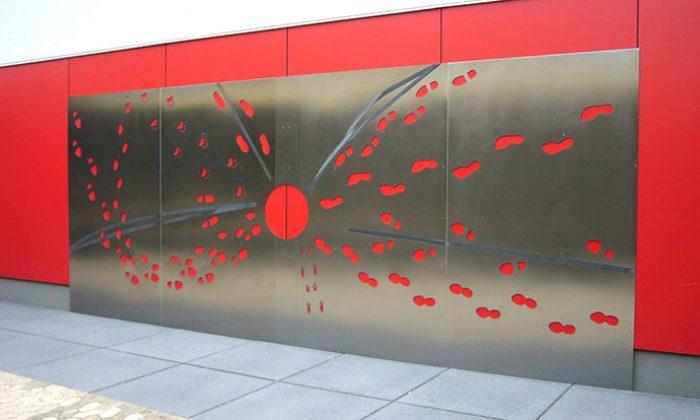 Wandkunst_sculptuer_Edelstahl